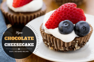 No Bake Vegan Chocolate Cheesecake Recipe
