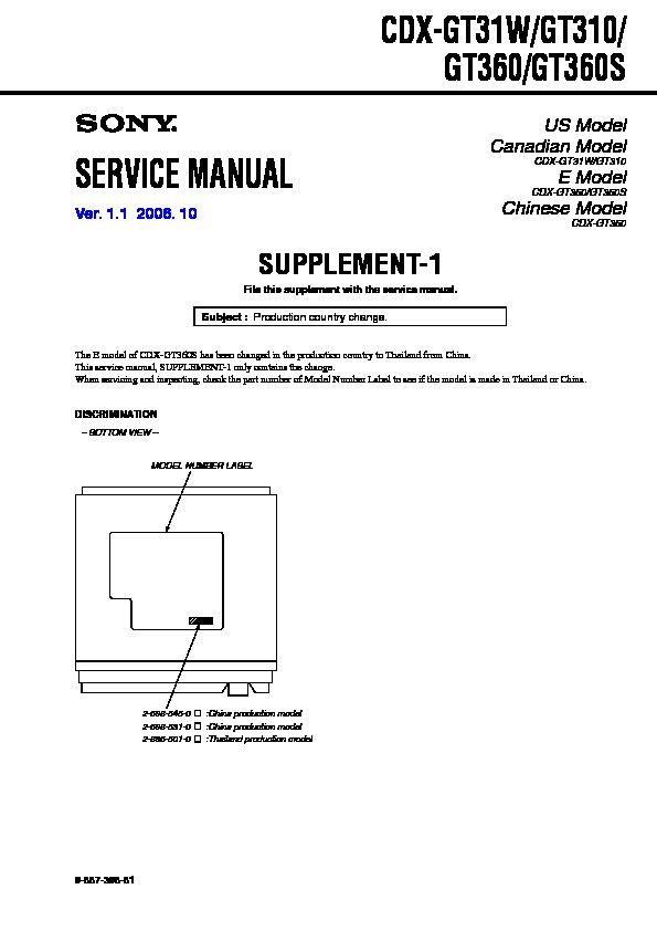 Sony Car Audio service manuals - Page 27