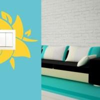 Jak ochronić ścianę wokół włącznika światła przed brudzeniem?