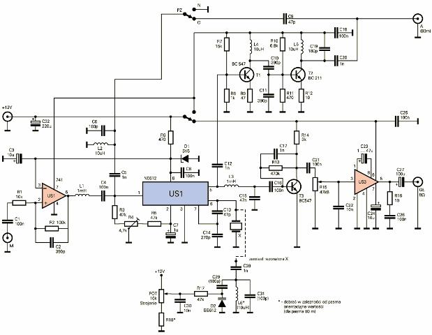 micro power am broadcast transmitter