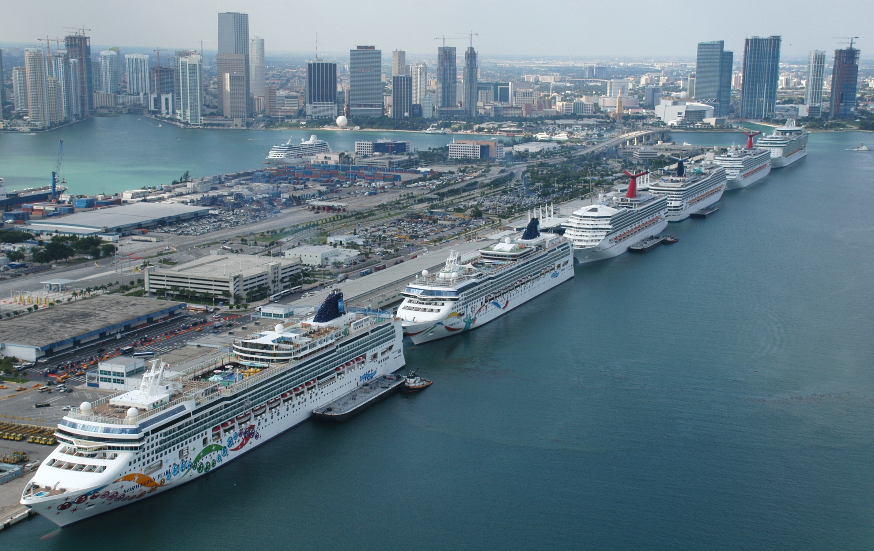 Miami Port Port Of Miami Sets New Cruise Passenger World Record South East