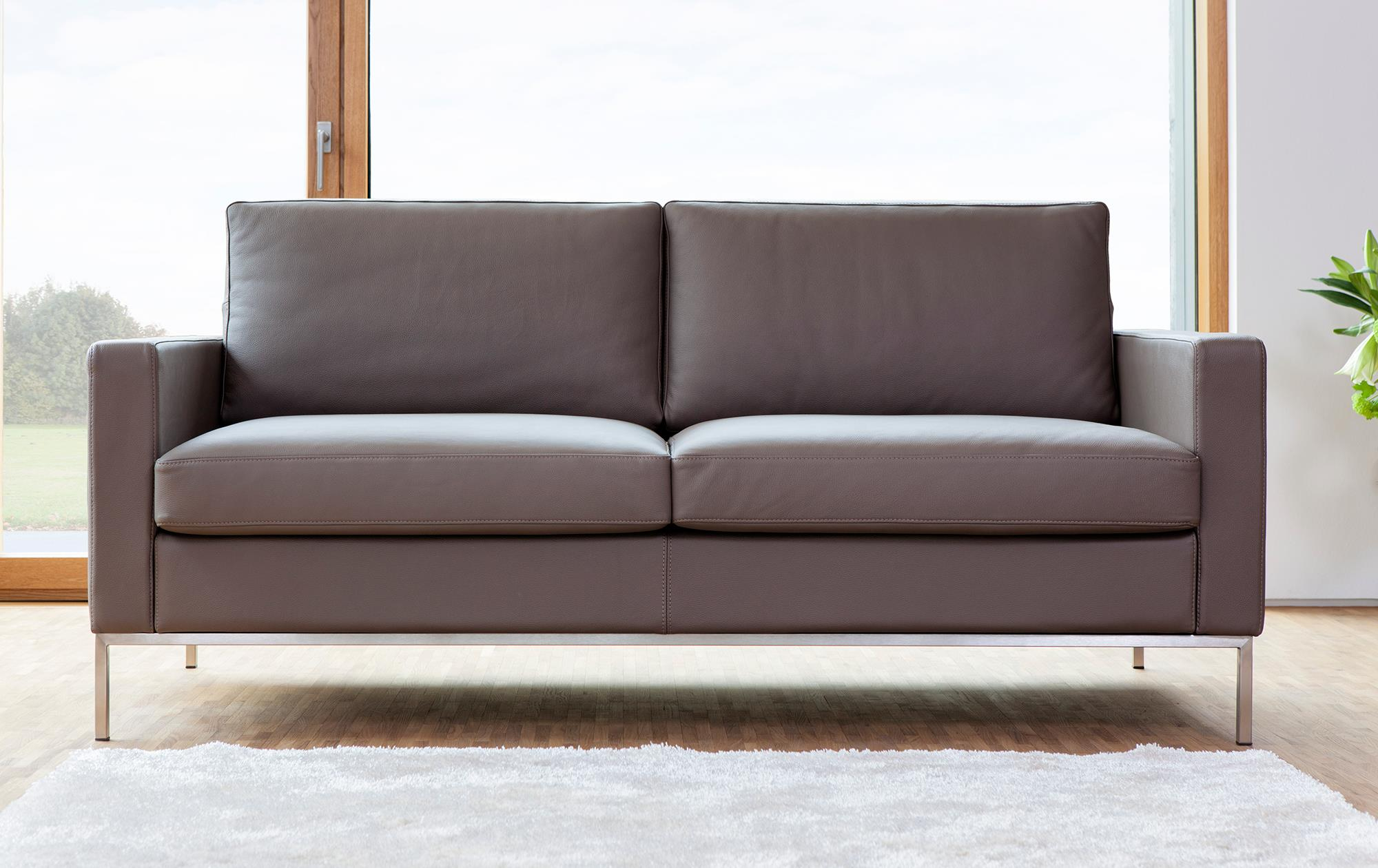 Matratze Kaltschaum Sofa Augsburg In Leder | Sessel-manufaktur.de