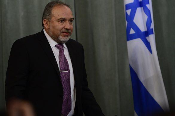 Israeli Foreign Minister Avigdor Liberman in Moscow, Russia on January 26, 2015. Sefa Karacan / Anadolu Agency (Sefa Karacan - Anadolu Agency)