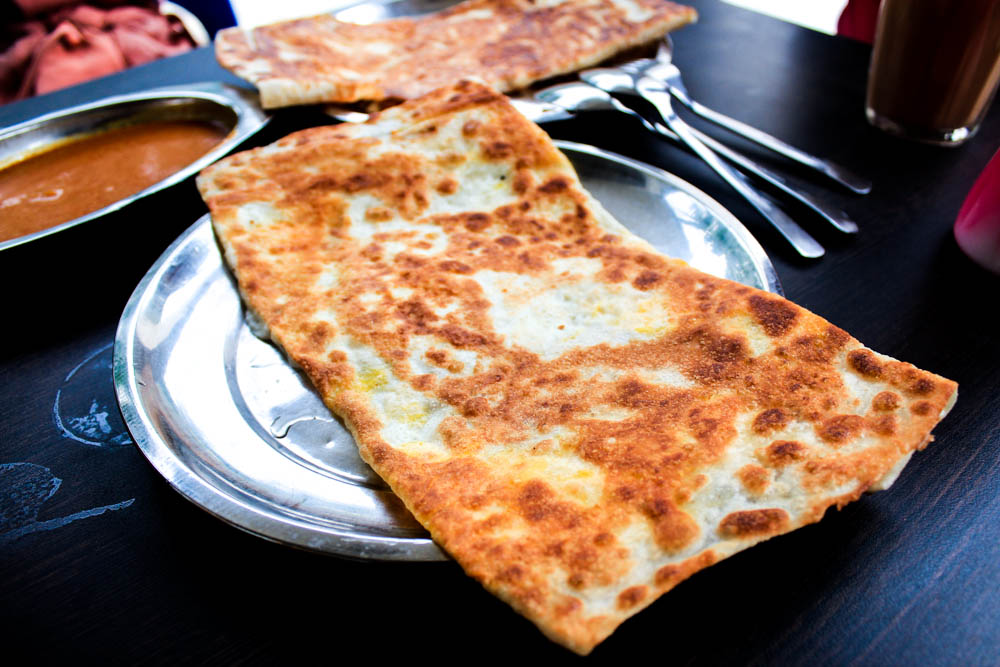 Singapore breakfast places - prata