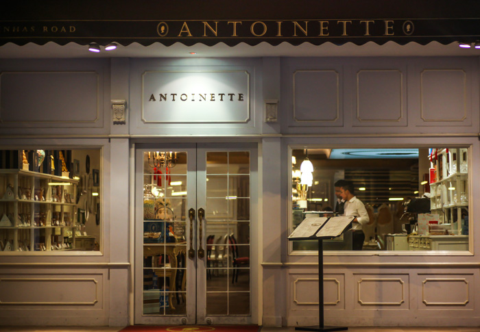 Antoinette - Frontage