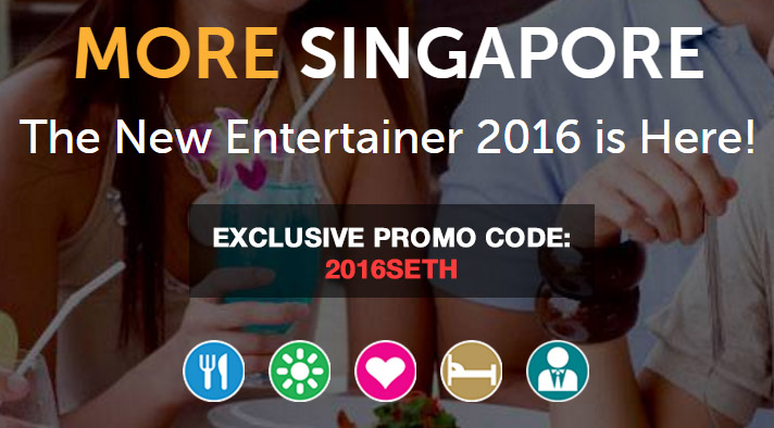 The Entertainer App 2016 Launches: Singapore Promo Code Exclusive with Sethlui.com