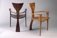 Finback Chair | Custom Designed Solid Wood Chairs - Seth ...