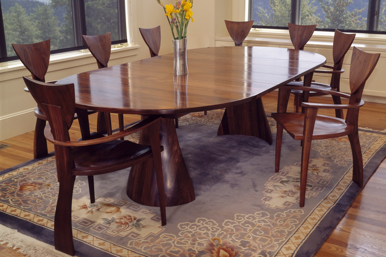 Round Timber Dining Table Tinsman Dining Table Round Dining Table Seth Rolland