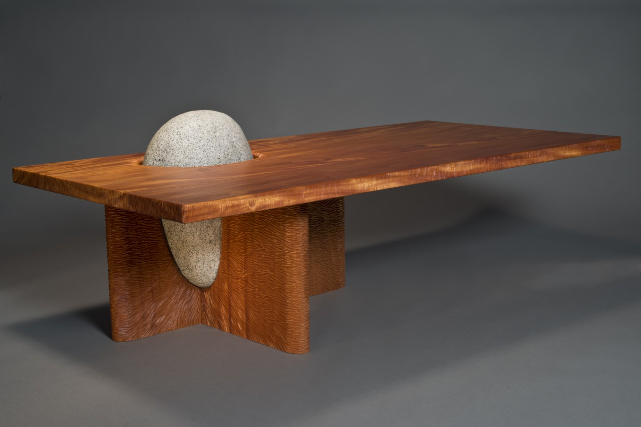 Couchtisch Holz Stein Eddy Coffee Table Solid Wood And Stone Table Seth Rolland