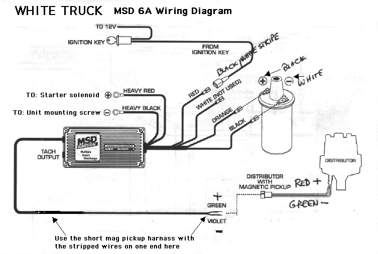 Msd Wiring Diagram For A Jeep Wiring Diagram