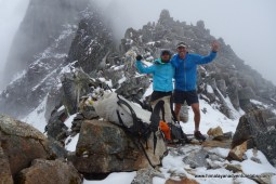We made it! Kanja La 5,130m/16,830ft. Wahoo! We think we might be the first people to reach it this year from the South. Now how do you get down? We made it! Kanja La 5,130m/16,830ft. Wahoo! We think we might be the first people to reach it this year from the South. Now how do you get down?