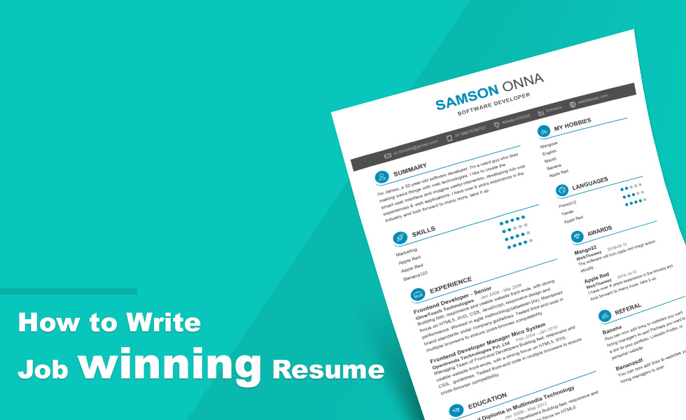 How to Create a Resume - Guide  Tips - SetResume