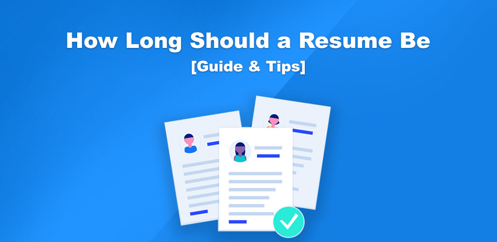 The Perfect Resume Length to use in 2019 - SetResume