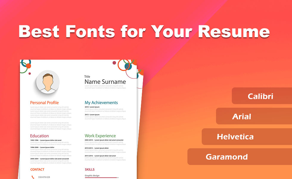 Best Fonts and Size To Use On Your Resume 2019 - SetResume