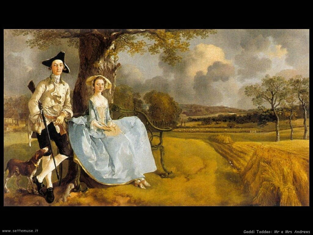 Pittura I Inglese Gainsborough Thomas Pittore Biografia Foto Opere Settemuse It