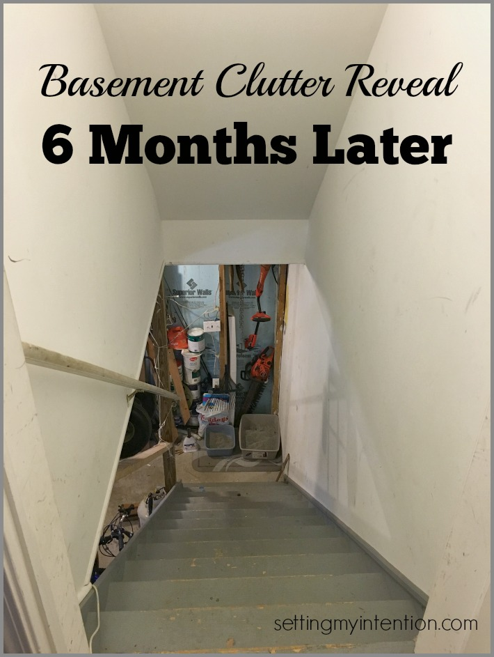 Basement Clutter Tour