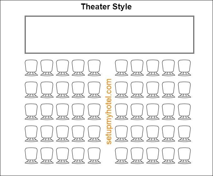 9 Types of Banquet Room setup / Event Room Setup Styles