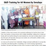 Sevalaya's certificate distribution article - The Indian Express