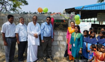 Reconstructed compund wall and solar power systems photes on 10-2-2017 (3)