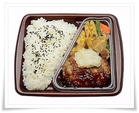 セブンイレブン商品がテレビ『ニッポンの出番』で!特集品まとめ!おろしソースの鉄板焼ハンバーグ弁当