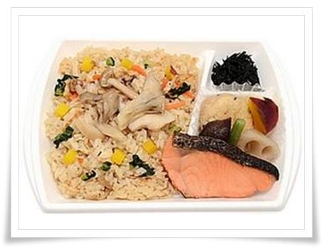 セブンイレブンの弁当メニュー!衝撃の低カロリーランキングBEST11秋の味覚!きのこの炊き込みご飯弁当
