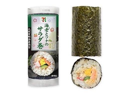 セブンイレブン手巻き寿司はうまいけど開け方が?カロリーや種類は?7
