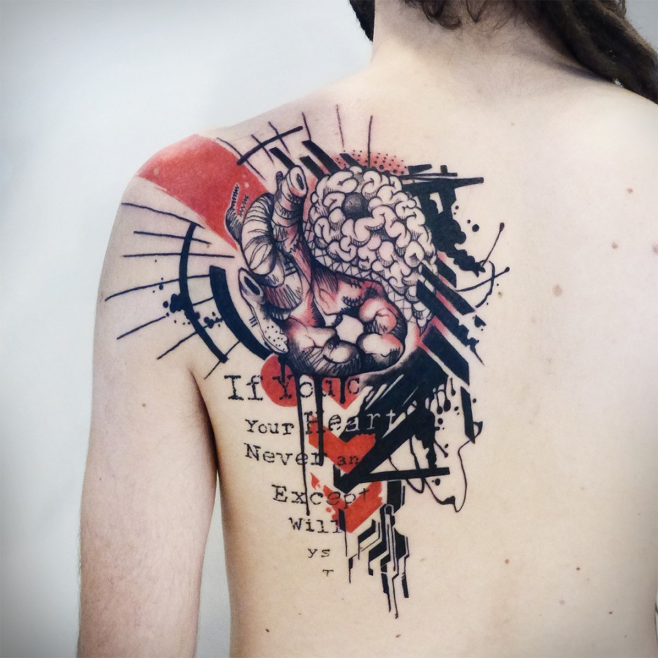 Tattoo Aquarell Tattoos Gallery Seven Arts Tattoo Piercing Figueres Girona
