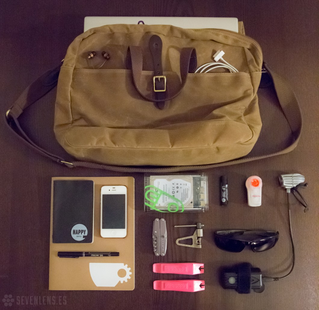 Chase Moore  |  What's in your bag?