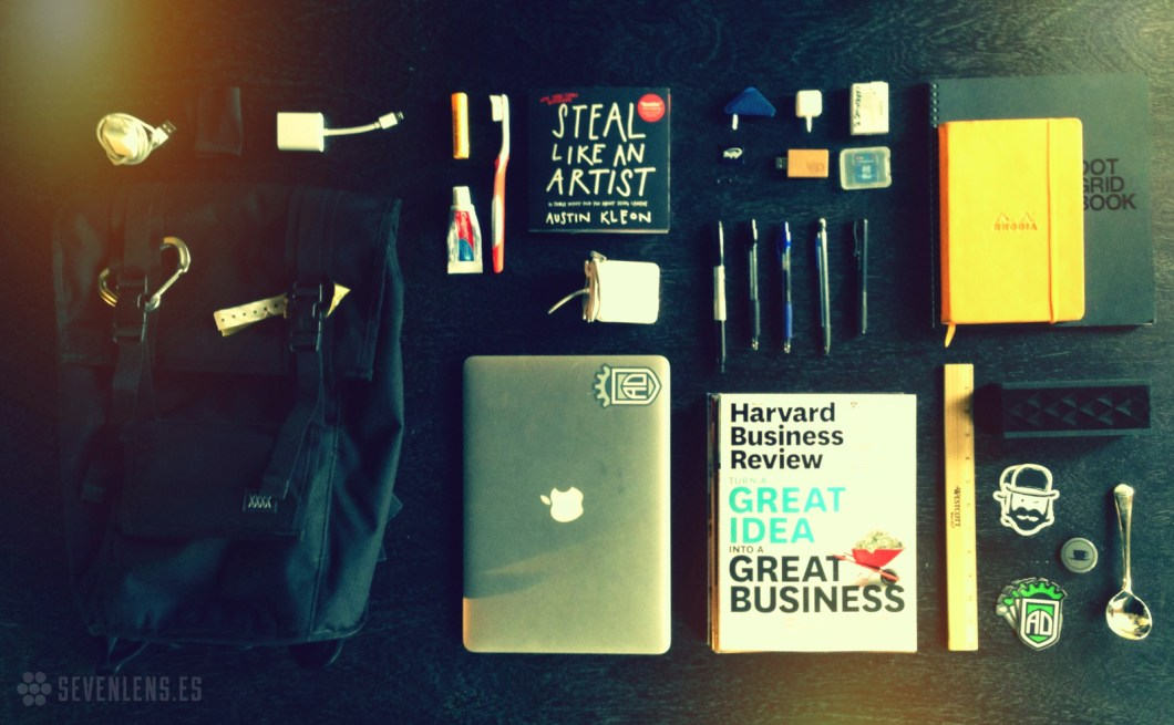 Sam DuRegger  |  What's in your bag?