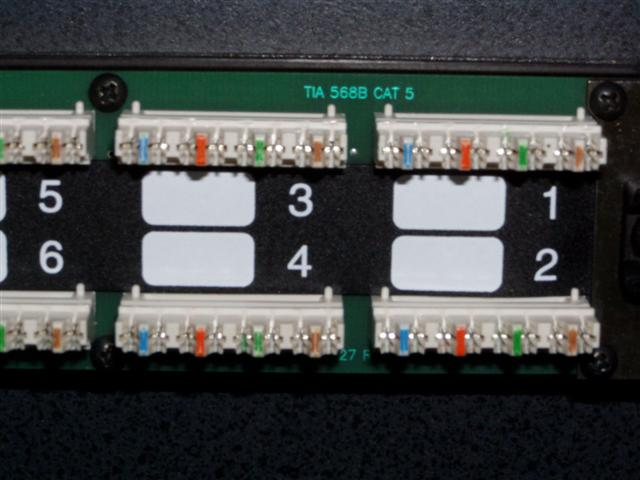 Just acquired a 568B patch panel, how to wire with my 568A network