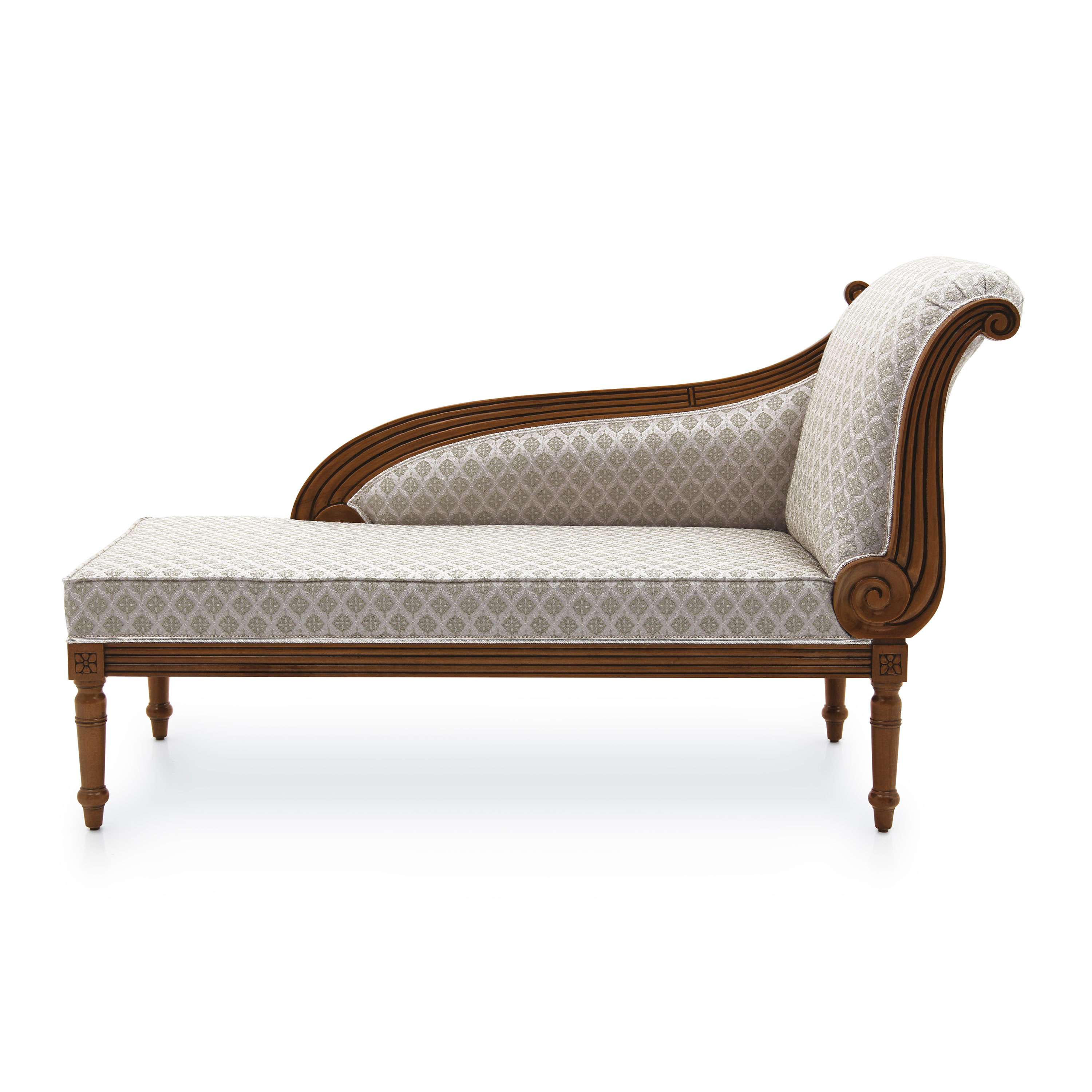 Chaise Style Classic Style Chaise Longue Made Of Wood Cerere 286 Sevensedie