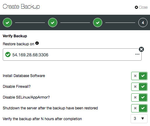 ClusterControl 15 - Automatic Backup Verification, Build Slave from