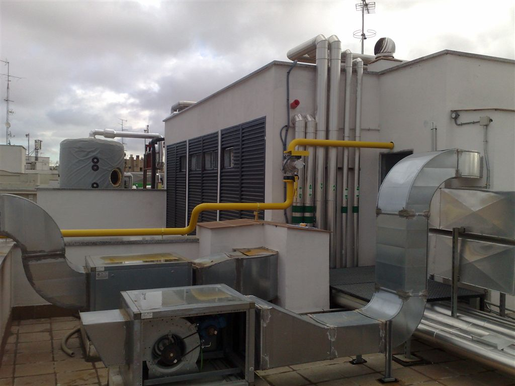 Piscina Municipal Moralzarzal Inst Receptoras De Gas Several Solutions S L