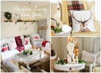 Christmas Decor - the Living Room | Sew a Fine Seam