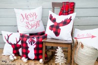 Christmas Pillows | Sew a Fine Seam