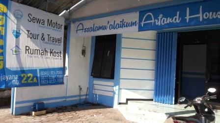 Arfand House, Kost Harian Malang Murah dan Strategis
