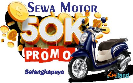 Promo Sewa Motor Malang Arfand Motorent