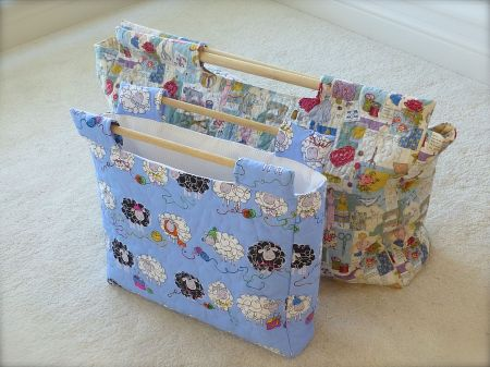 Knitting Project Bag Pattern To Sew