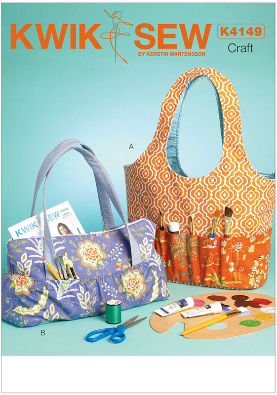 Baby Bags Vogue Hobby Tote And Bag Kwik Sew Sewing Pattern 4149 Sew