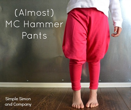MC Hammer Pants Almost Title