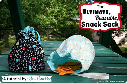 Ultimate Reusable Snack Sack Sew Can Do