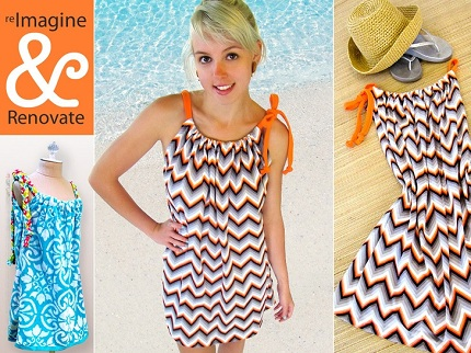 Tutorial Easy Knit Swimsuit Cover Up Sewing