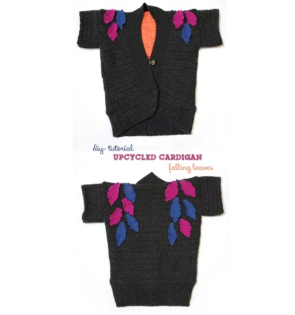 Tutorial: Falling Leaves Cardigan for little girls