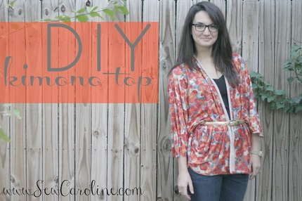 Tutorial: Simple kimono top