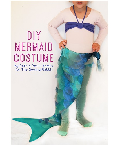 Tutorial: Little girl's mermaid costume, for Halloween or dress-up