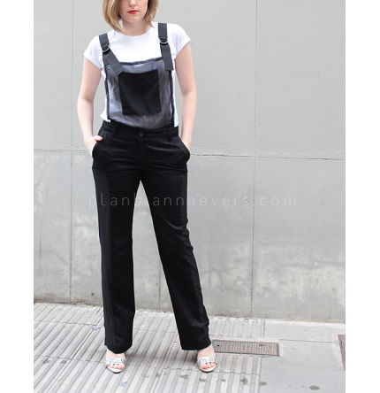 Tutorial: DIY trouser overalls