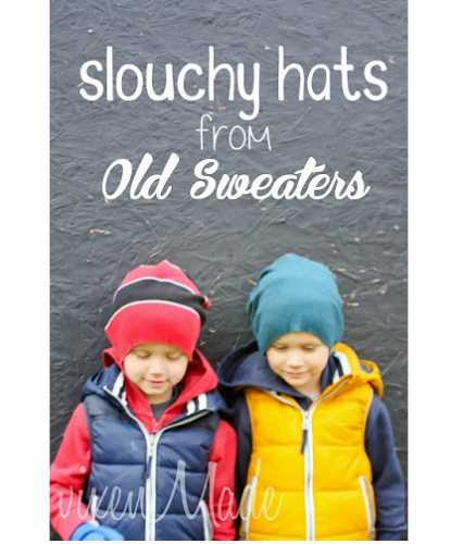Tutorial: Make a slouchy hat from an old sweater