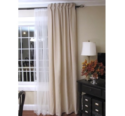 Tutorial: Turn tab topped curtains into hidden back tab curtains