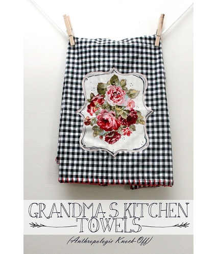 Tutorial: Grandmas Kitchen Towels