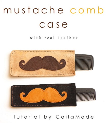 Tutorial: Mustache Comb Case